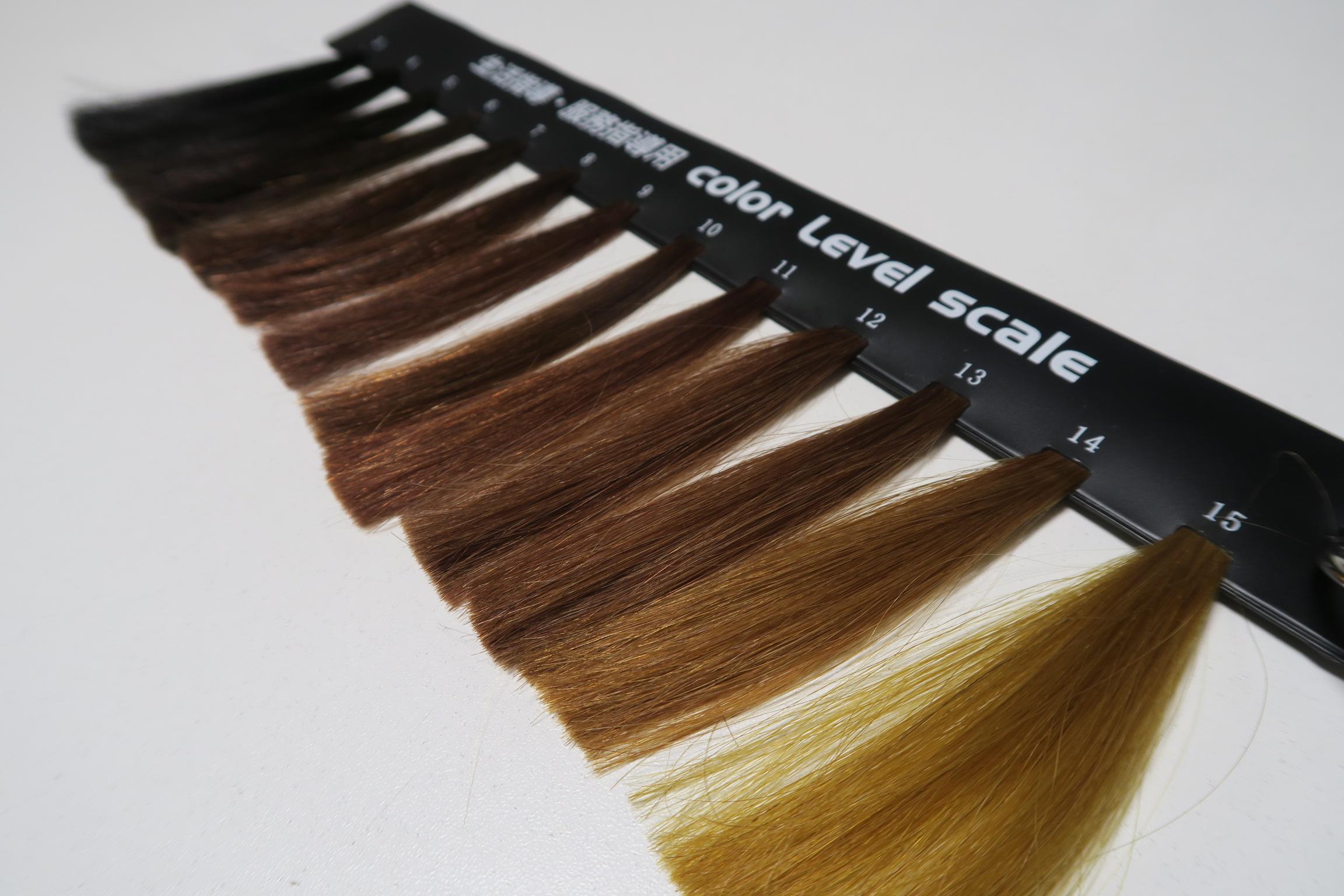 髪色指導の基準になるものをお持ちですか?